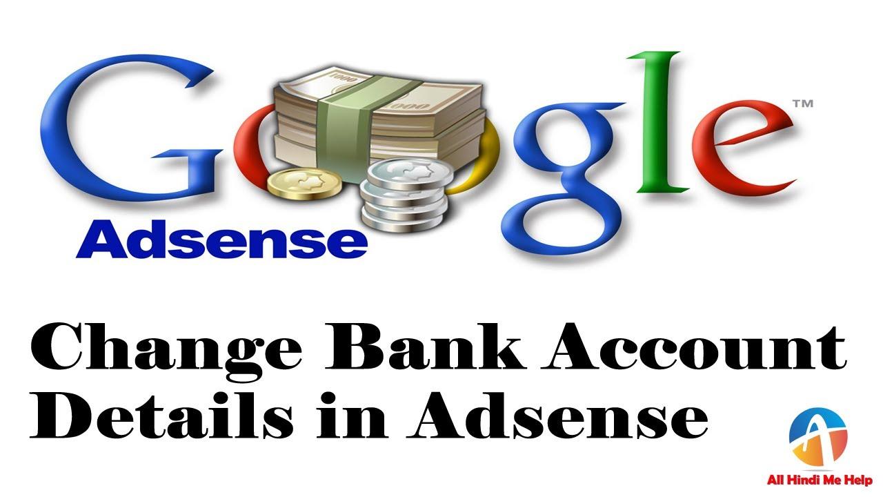 change bank account details ebay