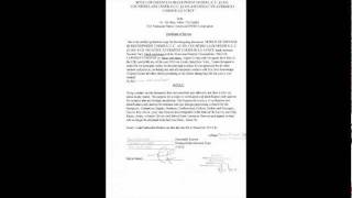 Notice of defense claim in recoupment under ucc 3 305 3 306 made ...
