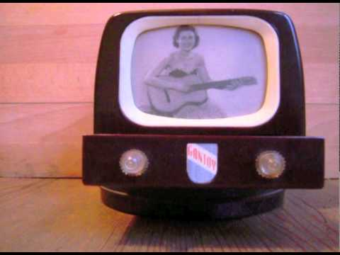 50's tv musical box