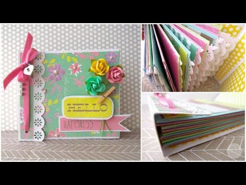 Scrapbooking Ideas Para Decorar Un Archivador Escolar