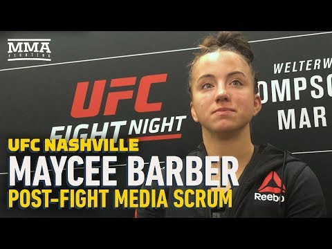 Maycee Barber on Ronda Rousey comparisons: I'm the face of a 'whole new breed of athletes'