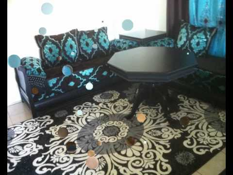 Salon marocain ranya decor youtube for Decoration salon marocain