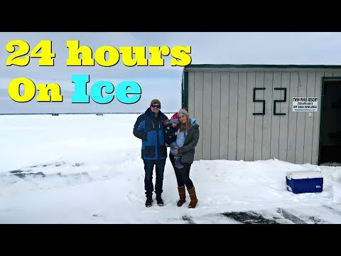 24 Hours Overnight On A Frozen Lake