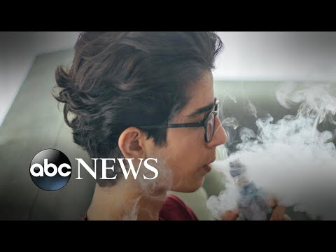 FDA investigates 127 cases of seizures after vaping l ABC News