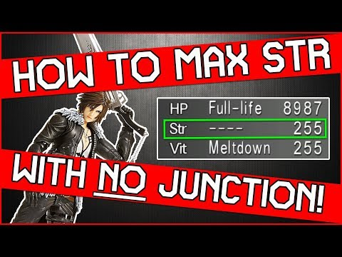 nice!-max-strength-without-junction-in-final-fantasy-8-remastered!-easy-farming!