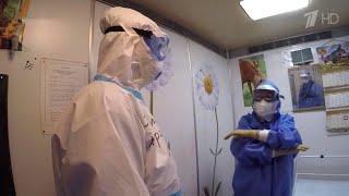 Фото В московских больницах работают сотни волонтеров.