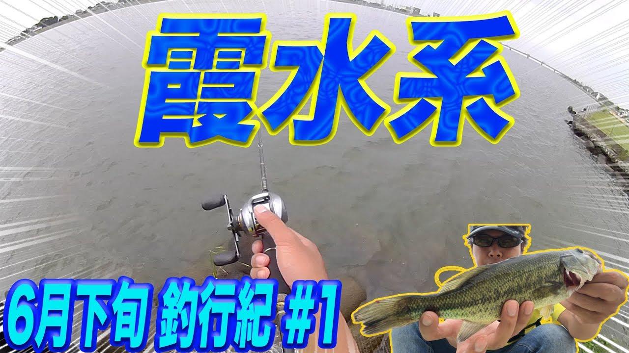 「6月下旬の下旬 釣行紀 #1」#霞ヶ浦#バス釣り#おかっぱり - YouTube