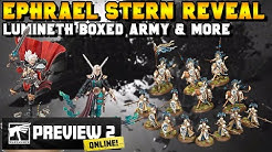 Ephrael Stern REVEALED + Lumineth Realm-Lords Boxed Army & More   Warhammer News