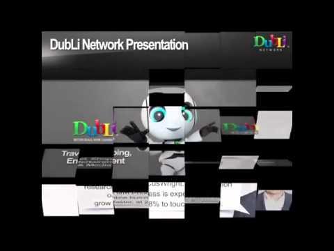 DubLi  भारत लॉन्च   एक दिलचस्प व्यापारिक भेंट  DubLi नेटवर्क की  योजना  के बारे में