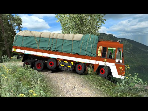 Truck Driver Almost Killed Himself | Euro Truck Simulator 2 Game | Leyland Truck