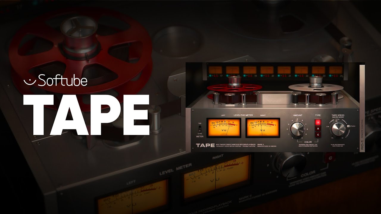 Softube Tape emula la cinta analógica en tu DAW digital