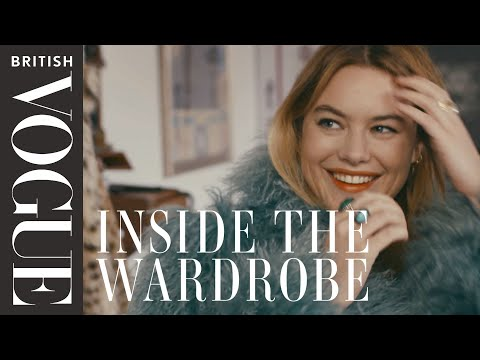 French Style Secrets: Inside The Wardrobe of Camille Rowe | Inside The Wardrobe | British Vogue