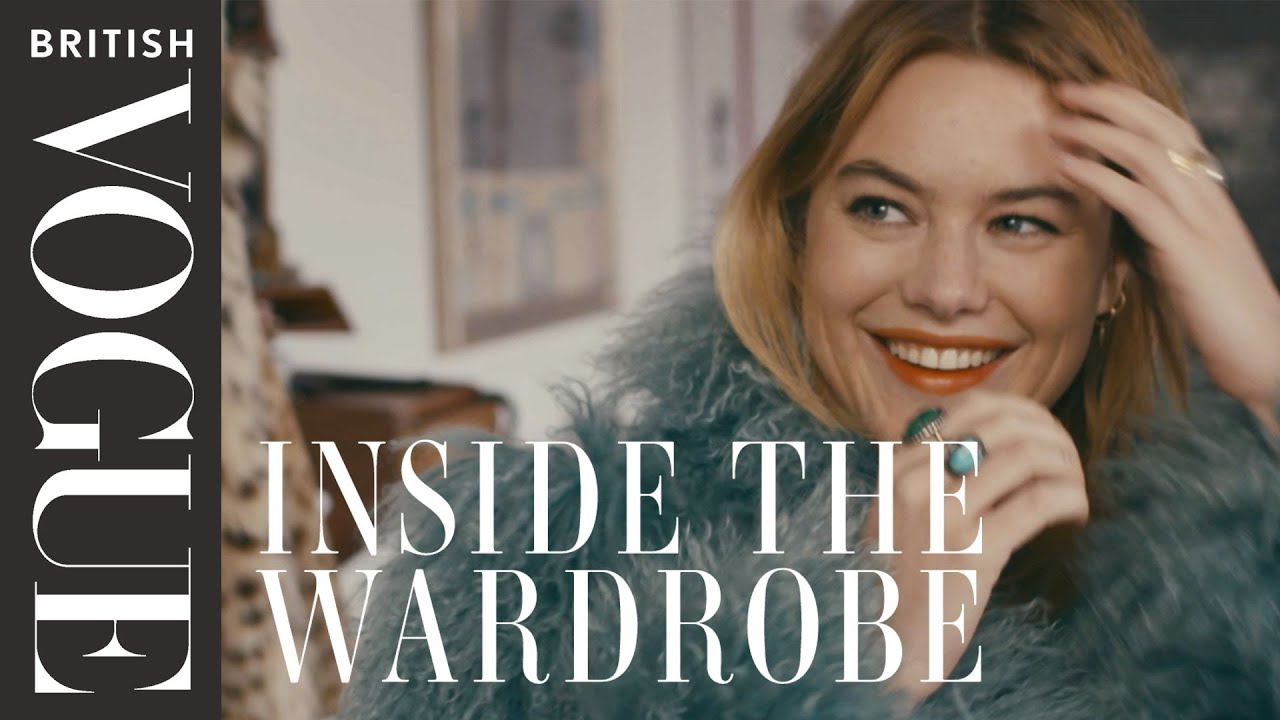 Camille Rowe's French Style Secrets: Inside the Wardrobe | British Vogue -  YouTube