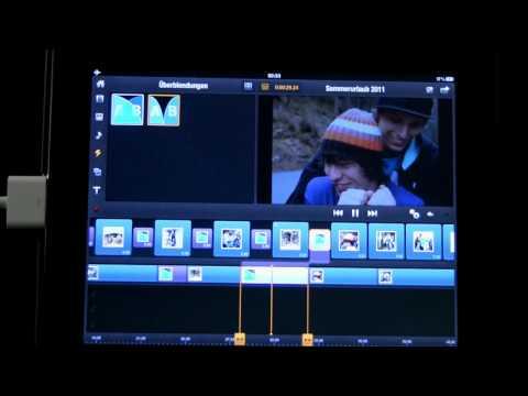 09 Avid Studio iPad Übergangseffekte hinzufügen und anpassen