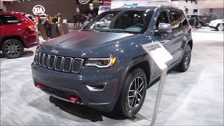 2018 Jeep Grand Cherokee Trailhawk - at LA Auto Show 2017