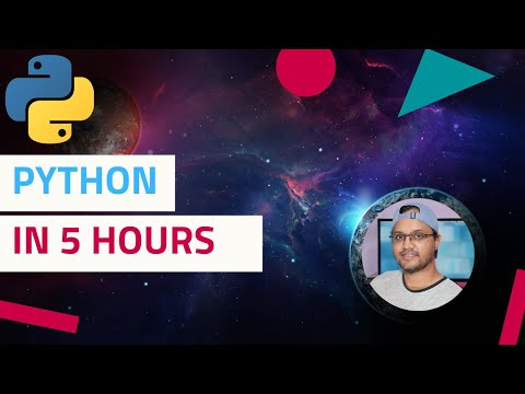 Learn Python Programming 🔥 Full Course ✌️ Absolute Beginners