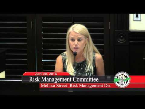 Risk Management Committee - April 28, 2016