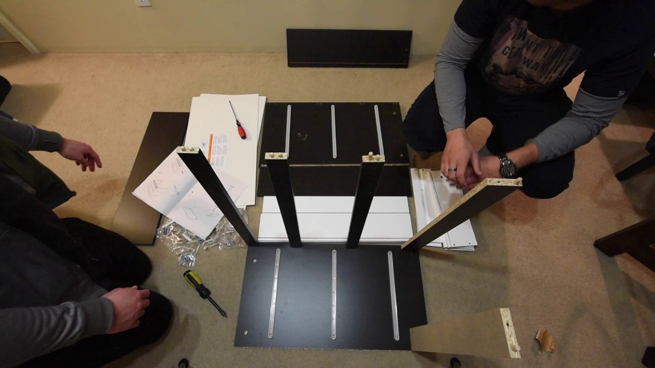 Tutorial ikea furniture assembly kullen youtube for Someone to assemble ikea furniture