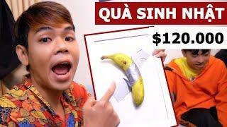 Quà sinh nhật $120.000 Bảo Chill tặng (Oops Banana Vlog #95)