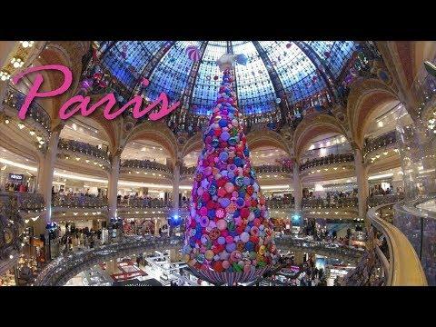 Compras em Paris: Natal nas Galeries Lafayette!
