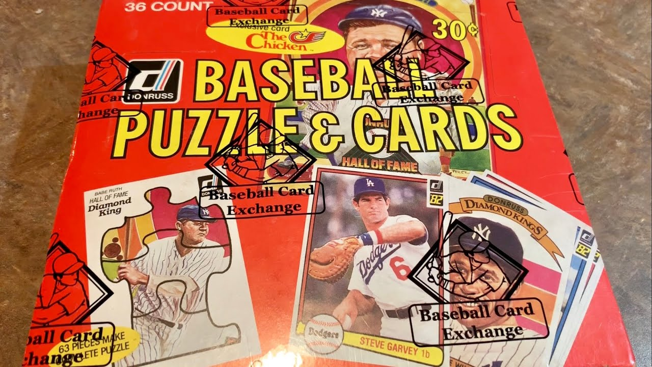 1982 Donruss Box Opening And The Search For Cal Ripken Jrs Rookie Card Throwback Thursday