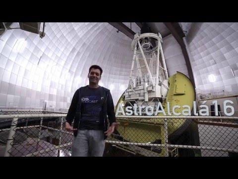 Bienvenida a AstroAlcalá 2016 desde el Telescopio Anglo-Australiano