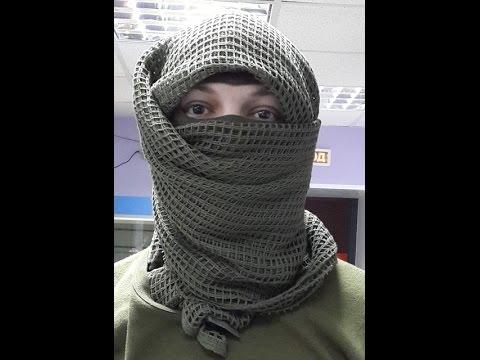 Маскировочный сетчатый шарф снайпера, армии Британии