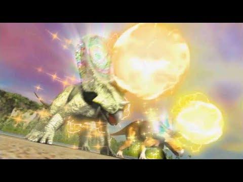 Dinosaur King Battle Against Torosaurus