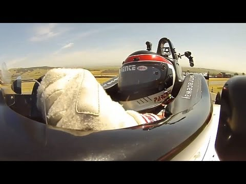 Leo Parente Drives A SimRaceway Formula 3 Race Car - /SHAKEDOWN