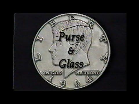 David Roth- Purse & Glass Copper & Silver Transpo