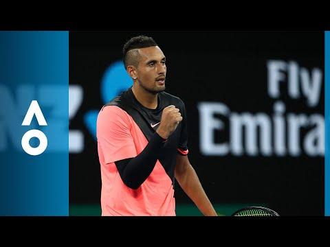Nick Kyrgios v Viktor Troicki match highlights (2R) | Australian Open 2018