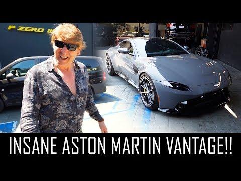 INSANE 2019 ASTON MARTIN VANTAGE!!