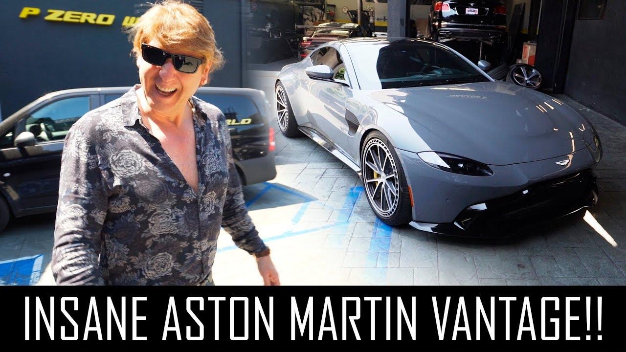 Insane 2019 Aston Martin Vantage Youtube