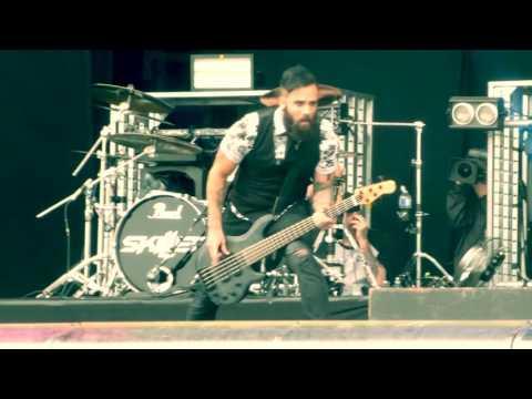 Skillet Awake and Alive  Download festival Paris 2016 HD