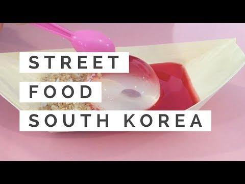 Street Food in South Korea [Food Design Travel Note]