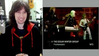 British guitarist analyses Edgar Winter's OUTRAGEOUS out of this world ability!