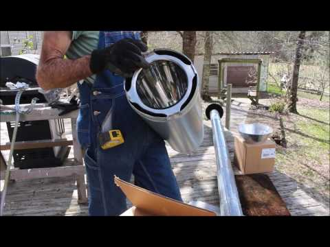 Installing Wood Stove Pipe
