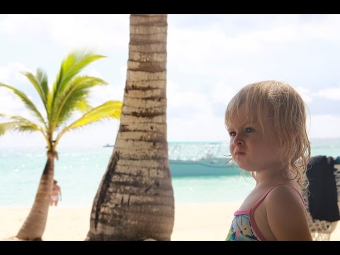 Marianna's first time in Dominican Republic