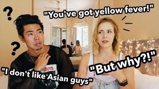 """""""Why are you dating an Asian man?"""" and other racist comments about interracial couples // AMWF"""