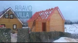 видео Баня из бруса в Калуге
