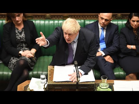 Watch Again: Boris Johnson pauses Brexit Bill after losing key timetable vote