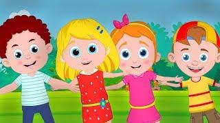 Head Shoulders Knees and Toes | Schoolies Nursery Rhymes | Kids Songs