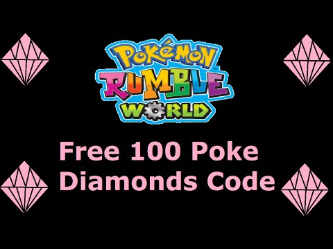 Pokémon Rumble World: 100 Poke Diamonds Code