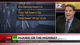 Trump threatens UK: Quit Huawei or else!
