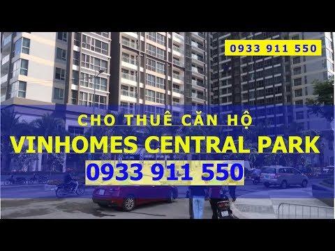 Cho thuê căn hộ Vinhomes Central Park view sông Giá rẻ ✅0933911550