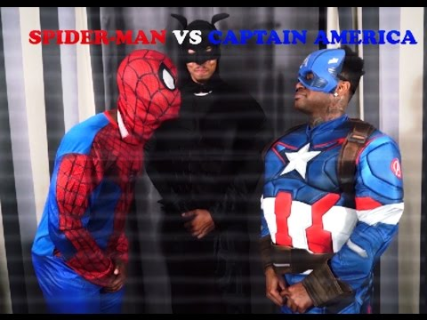 Thumbnail: FREESTYLE RAP BATTLE: Spider-Man VS Captain America
