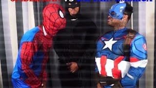 FREESTYLE RAP BATTLE: Spider-Man VS Captain America