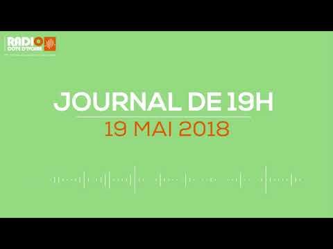 Le journal de 19H00 du 19 avril 2018 - Radio Côte d'Ivoire