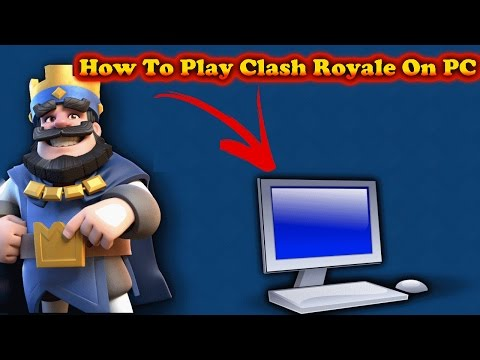 How To Play Clash Royale On PC!!(Without Bluestacks)(Nox)(Emulator)