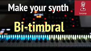 Synth hack: How to make your synth BI-TIMBRAL - shown using Peak from Novation